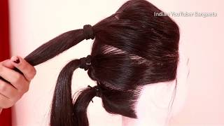 Download Very easy hairstyle for wedding | Easy Hairstyles for long hair | updo hairstyle | simple hairstyle Video