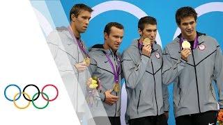Download Michael Phelps' Final London 2012 Race - Men's 4 x 100m Medley | London 2012 Olympic Games Video