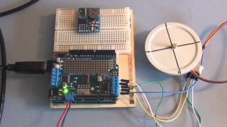 Download Adafruit Motor Shield and Arduino Uno Stepper Motor Tutorial Video