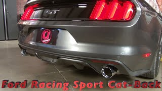 Download 2015-2017 Mustang GT Ford Racing Sport Cat-Back Exhaust Sound Clips Video