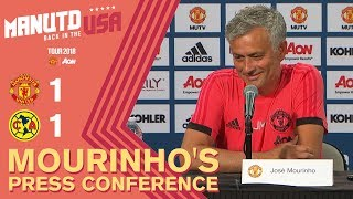 Download Alexis Sanchez to Join Tour Squad This Week | Mourinho's Press Conference | Man Utd 1-1 Club America Video