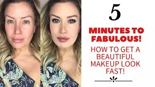 Download 5 Minutes To Fabulous! How to Do Beautiful Makeup FAST! (Full Tutorial) Video