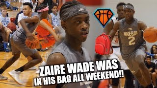 Download Zaire Wade WAS IN HIS BAG🎒 ALL WEEKEND!!| Son Of Dwyane Wade is MAKING HIS OWN NAME Video