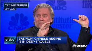 Download Bannon: We're at an economic war with China | Squawk Box Europe Video