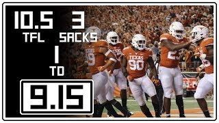 Download Texas Defense Full Highlights vs USC || 9.15.18 || 10.5 TFL, 3 Sacks, 1 Blocked FG TD Video