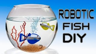 Download How To Make a Robotic Fish ( No Batteries ) Video