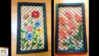 Download Newspaper craft idea   Diy Newspaper Wall decor Video