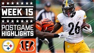 Download Steelers vs. Bengals | NFL Week 15 Game Highlights Video