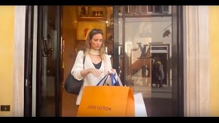 Download THE BEST SHOPPING IN ROME LOUIS VUITTON JIMMY CHOO FENDI D&G VALENTINO... Video