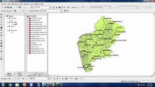 Download How to find out shortest route or shortest path using Network analyst in ArcGIS Video