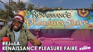 Download EJ Attends The Renaissance Pleasure Faire In LA! | EJ In LA Video