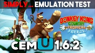 Download Donkey Kong Tropical Freeze - Wii U 1080p [Cemu 1.6.2 Test] Video