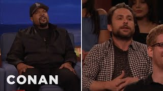 Download Ice Cube Vs. Charlie Day - CONAN on TBS Video