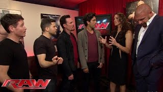 Download The stars of ″Entourage″ meet The Authority: Raw, May 25, 2015 Video