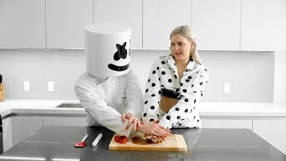 Download Cooking with Marshmello: How To Make FRIENDS Cookies (Feat. Anne-Marie) Video