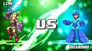 Download Megaman VS Link. Video