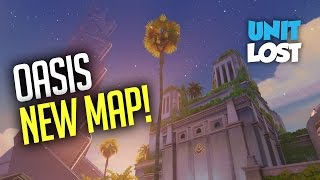 Download Overwatch Oasis Gameplay - NEW OASIS CONTROL MAP - CARS AND JUMP PADS! Video