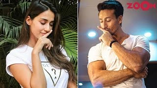 Download Tiger Shroff & Disha Patani trick fans with engagement posts | Bollywood News Video