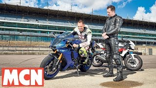 Download Trackday riding advice: Body position | Motorcyclenews Video