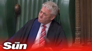 Download John Bercow tears up as MPs pay tribute at his final PMQs Video