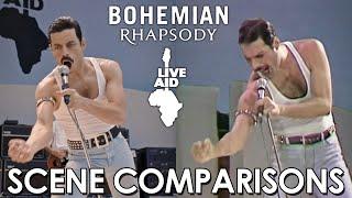Download Live Aid | Bohemian Rhapsody (2018) - scene comparisons Video