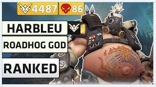 Download Overwatch Rank 1 Roadhog Player | Harbleu Video