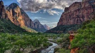 Download Scenic drive at Zion National Park,Utah, USA Video