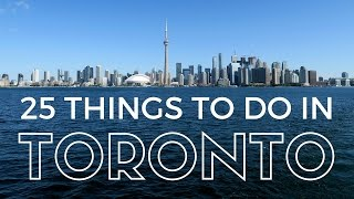 Download 25 Things to do in Toronto Travel Guide Video