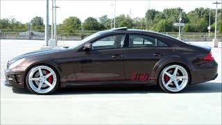 Download Mercedes CLS 55 AMG Black Series 63 Widebody / Bodykit + 21″ R5 X-Concave Rennen Forged build by M&D Video