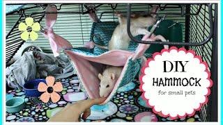 Download DIY Pet Hammock Video