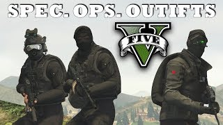 Download GTA V - Spec. Ops. Outfits! | New Top Military Custom Doomsday Heist Outfits Video