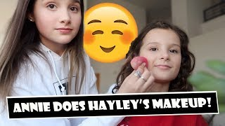 Download Annie Does Hayley's Makeup 😊 (WK 380) | Bratayley Video