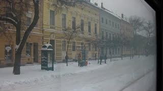 Download Szeged = Winter Wonderland (Public Transit in Snow) Video