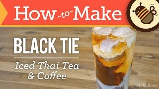 Download How to Make Black Tie Coffee (Thai Iced Tea & Coffee Recipe) - from Thailand Video