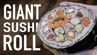 Download DIY GIANT SUSHI ROLL Video