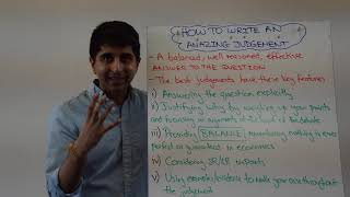 Download How To Write An Amazing Judgement (Final Paragraph) In Economics Video