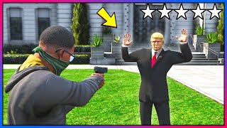 Download What happens if you rob Mr President?! (GTA 5 Mods - Evade Gameplay) Video