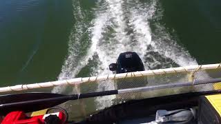Download Hobie Cat 16 Pontoon Fishing Boat ( Modified) Performance Test Video