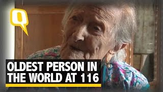 Download The Quint: Meet This Italian Who is The Oldest Person In The World at 116 Video