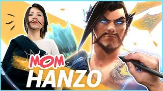 Download TURNING MY MOM INTO HANZO FROM OVERWATCH! Video