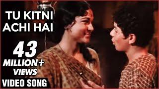 Download Tu Kitni Achhi Hai - Lata Mageshkar Classic Bollywood Emotional Hit Song - Raja Aur Runk Video