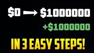 Download BROKE TO MILLIONAIRE IN 3 EASY STEPS! - GTA Online Beginners Money Guide Video