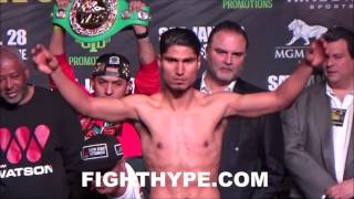 Download DEJAN ZLATICANIN VS. MIKEY GARCIA OFFICIAL WEIGH-IN AND FINAL INTENSE FACE OFF Video