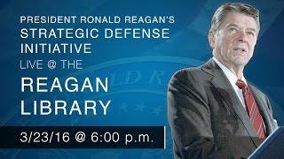 Download President Ronald Reagan's Strategic Defense Initiative — 3/23/16 Video