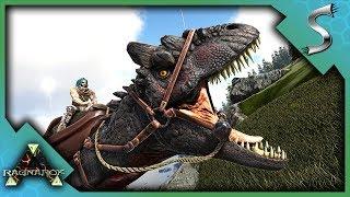 Download ALLOSAURUS PACK TAMING AND HUNTING! - Ark: RAGNAROK [DLC Gameplay S3E47] Video