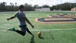 Download TRYING TO BREAK THE NFL'S LONGEST FIELD GOAL RECORD! Video