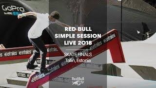 Download Replay - Skate finals at Simple Session 2018   Tallinn, Estonia Video