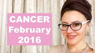Download CANCER February 2016. THE AMAZING OPPORTUNITIES of MARS In the Next 6 MONTHS Video