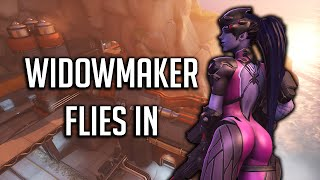 Download WIDOWMAKERS MOMENT! 360 Trickshot, Sentry Strategy Disaster - Overwatch Video