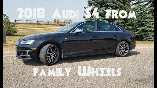 Download 2018 Audi S4 review from Family Wheels Video